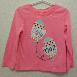 Cat & Jack Girls Long Sleeve shirt